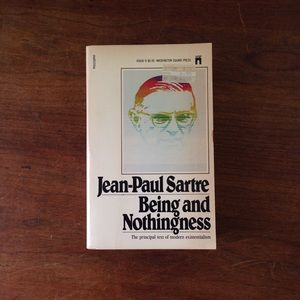 "Jean-Paul Sartre ""Being And Nothingness"""